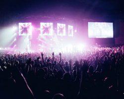 En fullsatt konsert