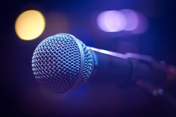 En klassisk mikrofon